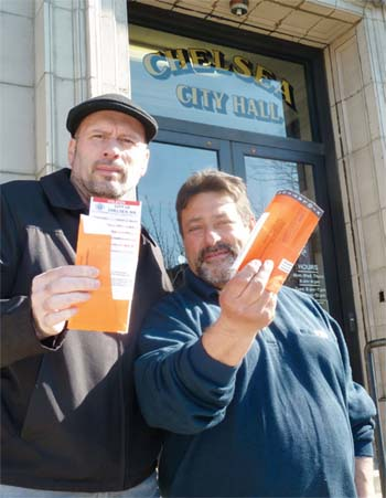Ticket Troubles; Councillors  Fed Up with Getting Tickets While at Meetings, on City Business
