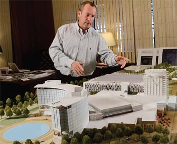 A Tale of Two Casinos: Suffolk Downs Owners Unveil  Scale Model of Proposed Site