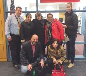 First Amendment Champion Visits Chelsea High