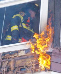 Chelsea Firefighters Battle a 2-Alarm Fire on Broadway