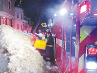 Chelsea Firefighters Battle Another Two Fires on Saturday