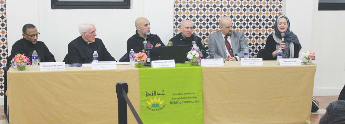 Forum on Relations with Local Muslim Community Held to Condemn Public Notes Railing Against Islam
