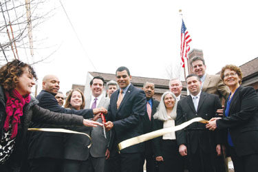 Vets Housing Opens at Old American Legion Building