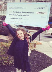 Kid for A Cause:Kelly School Student Jane Rust Brings Awareness to Diabetes