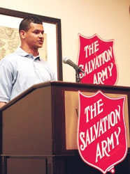 Salvation Army Week Kicked Off with Awards Luncheon Monday