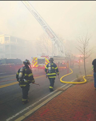 Chelsea Fire, Surrounding Cities in the Thick of Cambridge Blaze