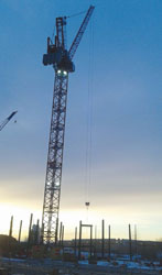 Wynn Boston Harbor Installs First Steel Beam