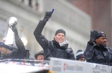 Patriots Victory Parade