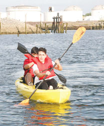 Kayaks and the Creek: Residents Want More Recreation Opportunities on the Waterfront