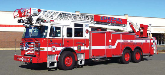 Chelsea Fire Takes Delivery of Two New Apparatus