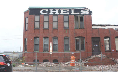 Piece of Chelsea History Goes Down to the Wrecking Ball