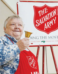 Chelsea Salvation Army Kicks Off Kettles at Market Basket