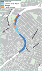 A Big Request:City Makes Big Ask of MassDOT for Viaduct Project Mitigation