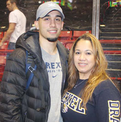 Chelsea's College Basketball Star:Drexel's Sammy Mojica Excels in His Last Game in Boston