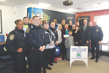 Chelsea Police, Cops for Kids with Cancer Assist Local Family