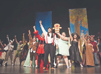 CHS Students to Present 'Shrek: The Musical' This Weekend