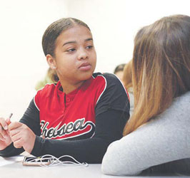Changing Lives:New Pilot Program a Hit Right Off the Bat with CHS Students
