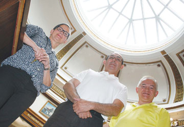 Library Renovations Highlighted by Historic Rotunda Skylight