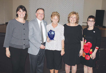 Chelsea School Official Gerry McCue Honored at Retirement Celebration