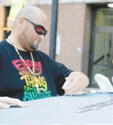 Game Night in Bellingham Square Gaining Momentum with Dominoes