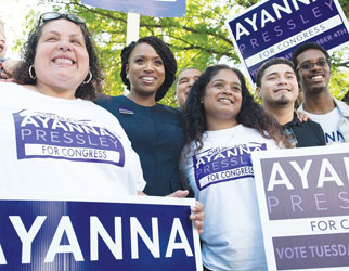 Boston Councilor Ayanna Pressley Defeats Congressman Capuano:Capuano Won Chelsea with 54 Percent of the Vote