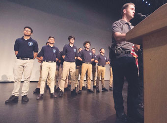 Chelsea Police Youth Academy Graduation