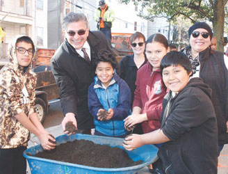 Ask and You Shall Receive:City, Students Celebrate Tree Request on Arbor Day