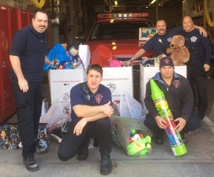Chelsea Fire Begins Toys for Tots Collection, Winter Clothing Drive