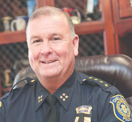 Chief Kyes Named First-Ever Chief of the Year