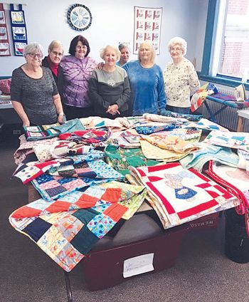 Senior Center Quilters Have Been Creating for 25 Years