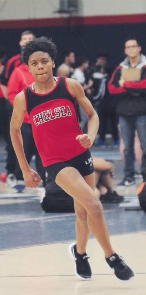 Simon Captures Division 2 State Long Jump Title