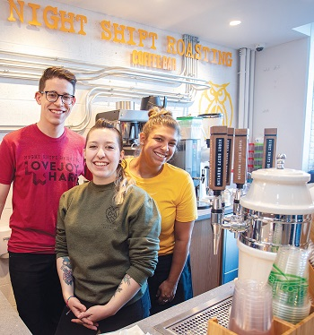 Night Shift to Add Coffee Roasting to Chelsea Headquarters